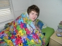 Zach's New Blanket