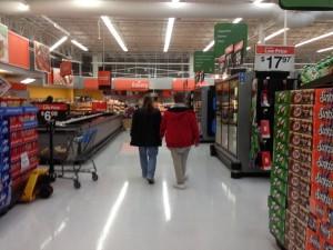 Walk around Wal-Mart with Zach